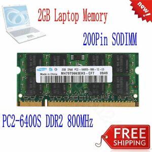 2GB-Module-Dell-Latitude-E4200-E5400-E5500-E6400-E6500-D630-XT-Laptop-RAM-Memory