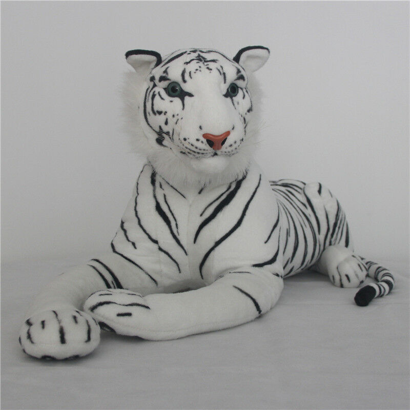 1PC White Tiger  Stuffed Animal Plush Soft Doll Toy Kids Baby Cuddle Pillows