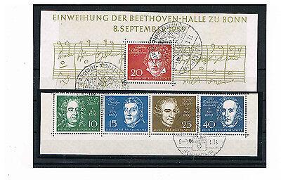 Bund Einzelmarken Aus Block 2 Mit Sst