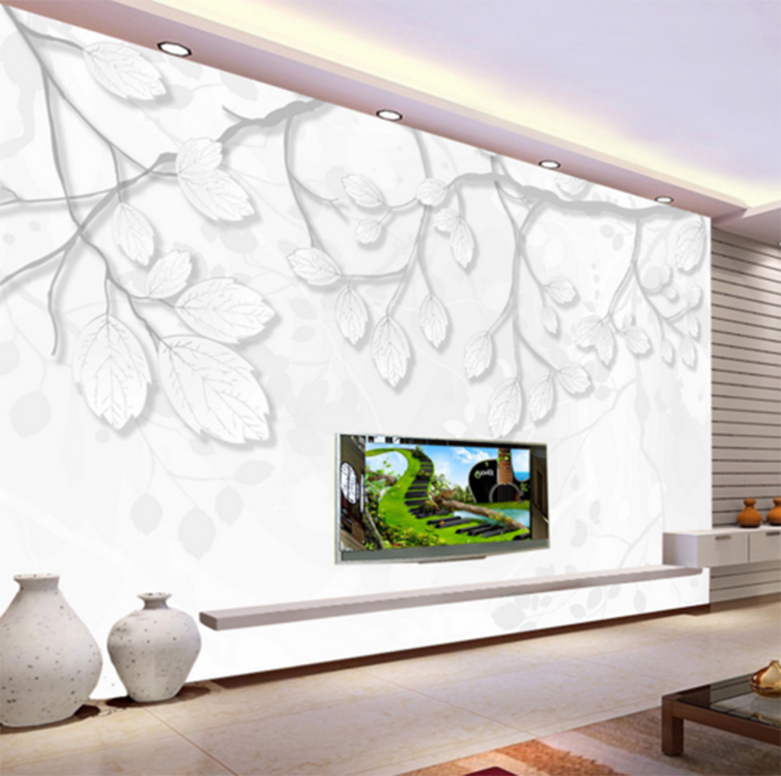 3D Weiß Branches 463 Paper Wall Print Wall Decal Wall Deco Indoor Murals