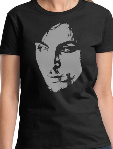 SYD BARRETT LADIES MUSIC T SHIRT PINK FLOYD NEW TOP GIFT W20