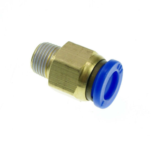 """10pcs Pneumatic Push In 10mm-1//8/"""" BSPT Threaded Male Jointer Connectors"""