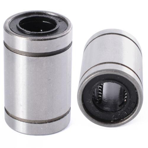 2 pcs roulements linéaires lm8uu ø 8mm 3d-Imprimante accessoires roulements linéaires CNC