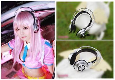 Sonicomi Super Sonico Headphone Cosplay Prop Anime Halloween Party Accessory XX