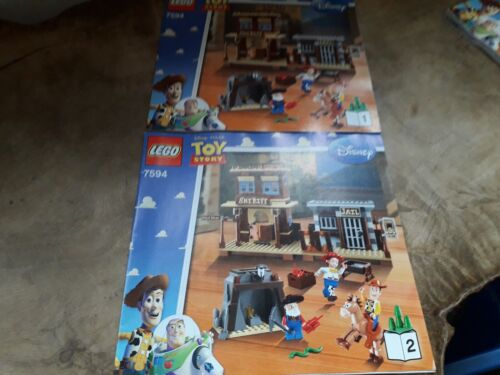 Lego Instructions 7594 Toy Story Woody/'s Round Up 2 Instructions Books 1