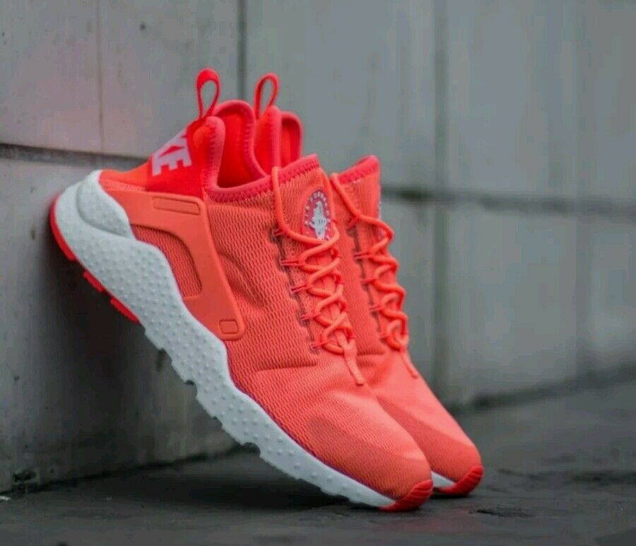Para mujer Nike Air Huarache Run Run Run Ultra Brillante Mango Talla UK 4.5 EUR 38  toma