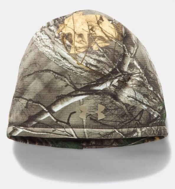 Under Armour Women s Storm Realtree Camo Scent Control Hunting Beanie  1300483 94 36fcce9f4e6