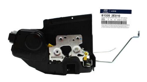 Genuine Door Lock Actuator Front Right 2005-2009 for Hyundai Tucson 81320-2E010