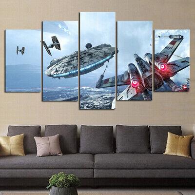 Star Wars Vintage Sport Car Poster Canvas Picture Art Print Premium Quality