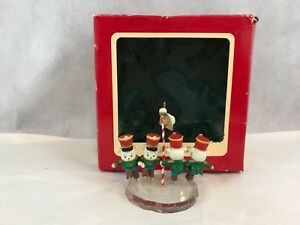 image is loading carlton cards heirloom collection north pole parade vintage