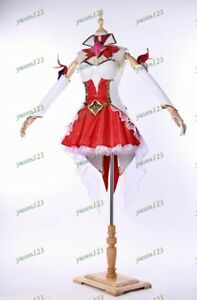 League of Legends Star Guardian Miss Fortune Cosplay Costume Fancy Dress Decor