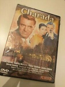 DVD-CHARADA-CON-GARY-GRANT-Y-CATHERINE-HEPBURN-precintado-nuevo