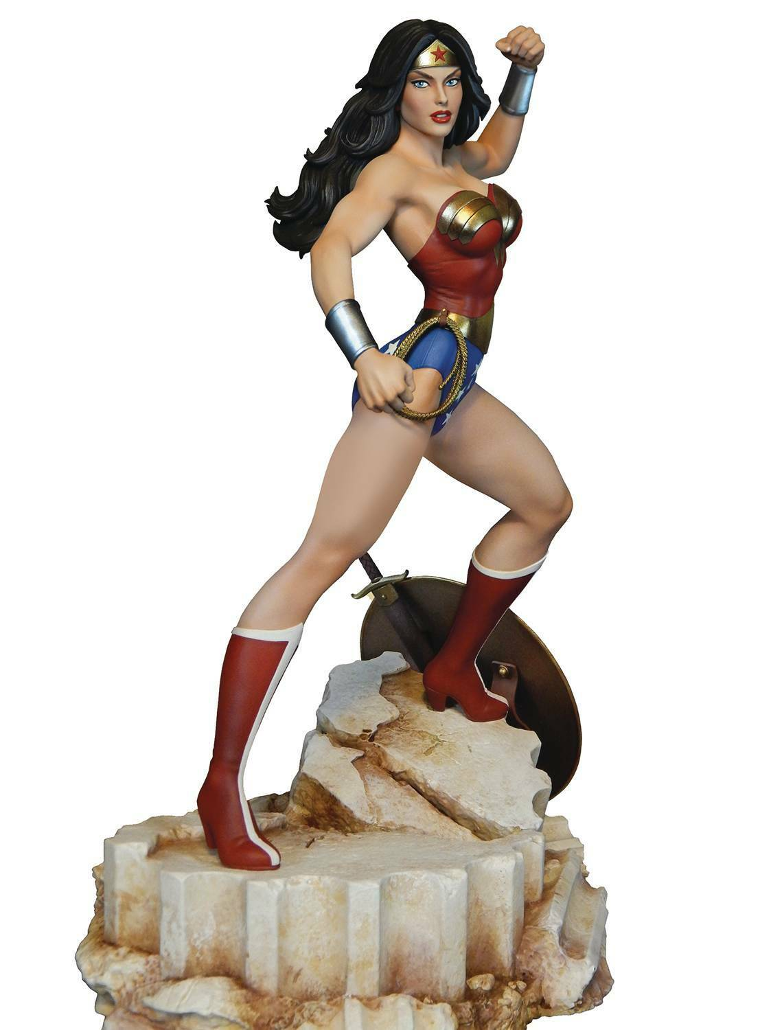 DC Super Powers Collection Wonder Woman Maquette Tweeterhead MINT NEW IN BOX
