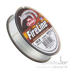 Crystal Fireline Braided Beading Thread 10LB 50 yd 0.008 Inch (D40/4)