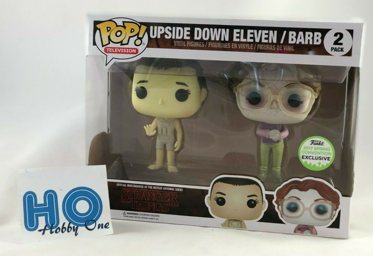 Funko Pop - Stranger Things - Upside Down Eleven Barb - 2 Pacco - Nuovo