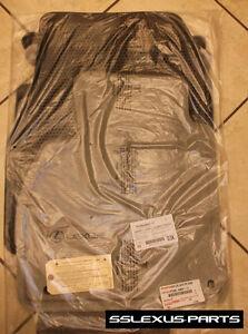 Lexus Lx470 1998 2007 Oem Carpet Floor Mats Charcoal Gray 3pc Pt208 60031 11 Ebay