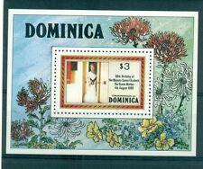 H.M. QUEEN ELIZABETH MOTHER 80th BIRTHADAY - DOMINICA 1980 block