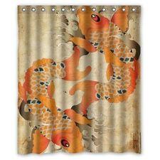 Item 1 New Customize Cool Design Custom Koi Fish Waterproof Fabric Shower Curtain 60x72