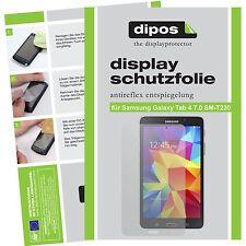 2x dipos Samsung Galaxy Tab 4 7.0 o.T. matte Displayschutzfolie Antireflex