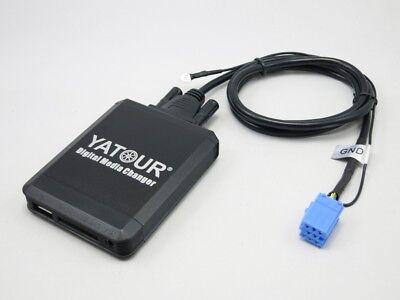 Usb Sd Aux Interface Mp3 8-20pin Passend Für Vw Phaeton Zab 3d Adapter