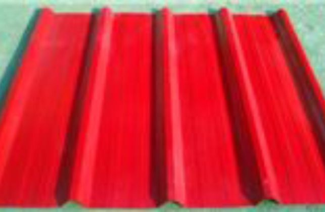 Roll forming machine for pruduction of galvanised and colour roof shhet and roof tiles
