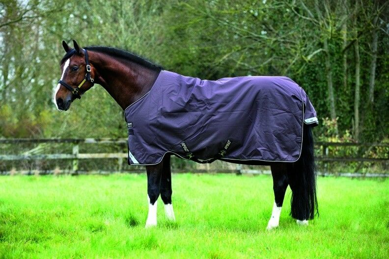 Horseware Amigo Turnout Bravo 12 12 12 1200 D heavy Winterdecke Weidedecke chocolate e562ea