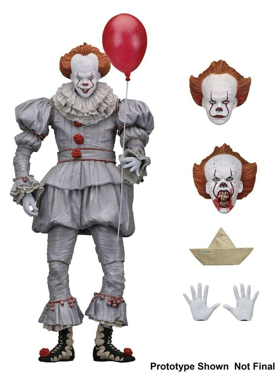 Stephen King's It 2017 Ultimate Pennywise Action Figure Neca