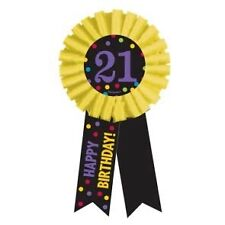 Happy 21st Birthday PARTY ITEMS Celebrate Decorations Tableware CHEVRON Age 21