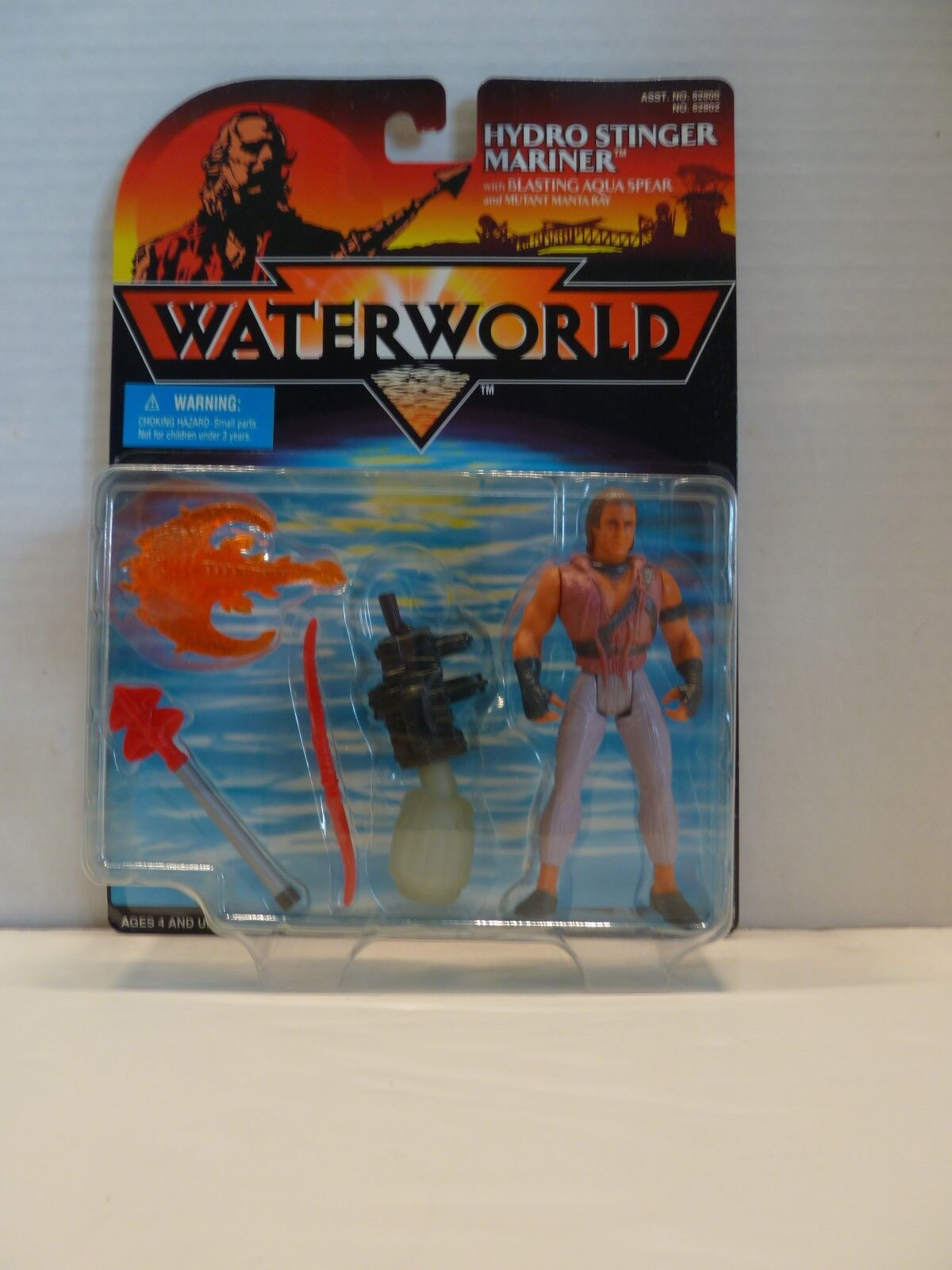 WATERWORLD WATERWORLD WATERWORLD SET action figures plus much more 9feef2