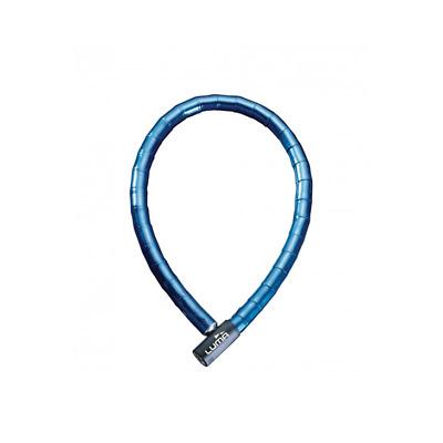 LUMA Candado antirrobo espiral ENDURO 7318 8mm 65 cm Azul