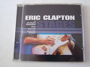 CD-DE-ERIC-CLAPTON-STAGES-JOHN-MAYALL-039-S-12-TITRES-TRES-BON-ETAT
