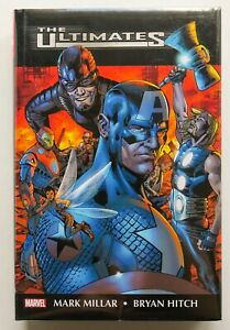 The Ultimates Hardcover Marvel Omnibus Graphic Novel Comic Book