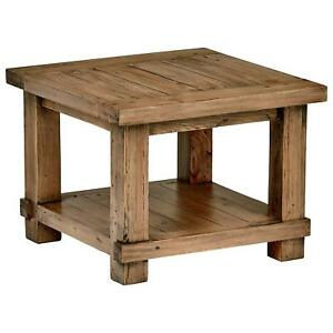 Image Is Loading Rustic End Table Living Room Sofa Side Furniture