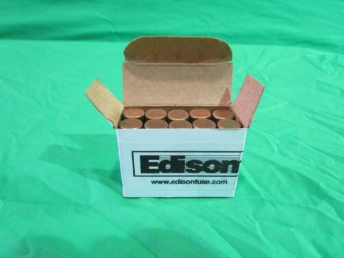 BOX OF 10 EDISON BUSSMANN COOPER ECNR30 30AMP FUSES 250 VOLTS RK5