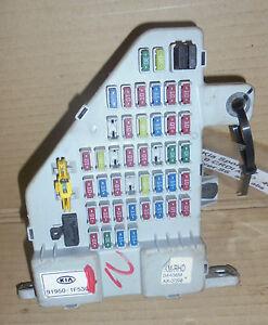 2007 kia sportage fuse box kia sportage 2005-2007 interior fuse box 91950-1f530 | ebay 2009 kia sportage fuse box #10