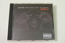 JAY-Z - THE BLACK ALBUM ACAPPELLA CD 2003 (ROC-A-FELLA)