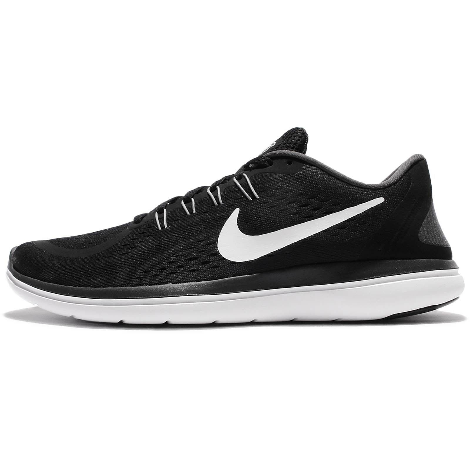 Nike Flex 2017 RN Run Black White Men Running Shoes Sneakers Trainers 898457-001 Great discount