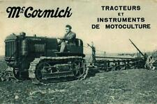 CARTE PUB - MC CORMICK - Tracteurs et instruments de motoculture