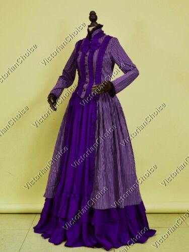 Victorian Choice Civil War Gothic Dress Ball Gown Theater Steampunk Clothing 175