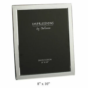 SILVER-PLATED-FLAT-EDGE-PICTURE-PHOTO-FRAME-IN-SIZE-3-5x5-5X7-8X10-JULIANA