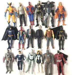 Marvel-Universe-Legends-Dc-Comics-2009-Spider-man-Batman-Bane-3-75-039-039-Figure-Toys