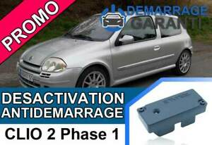 Cle-de-desactivation-d-039-anti-demarrage-Renault-CLIO-2-PHASE-1