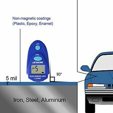 All-sun EM2271 Digital LCD Coating Thickness Gauge Car Painting Thickness Meter