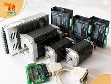 Hot Selling 3 Axis Kit 425ozamp1600oz In Step Motor Dual Shaft Ampdriver Wantai Cnc