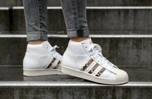 ADIDAS-PROMODEL-BB4946-Women-039-s-Trainers-White-Leather-100-Authentic