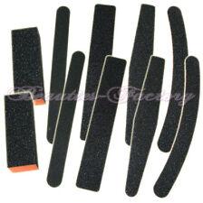 10 x Nail Sanding Files and Blocks in 5 Styles Buffer Acrylic Gel Tips AZ102