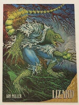 Fleer Ultra Spider-Man 1995 Marvel Card #148 Mysterio Lizard