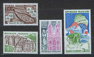FRANCIA-FRANCE-1974-MNH-SC-1403-1406-Tourism