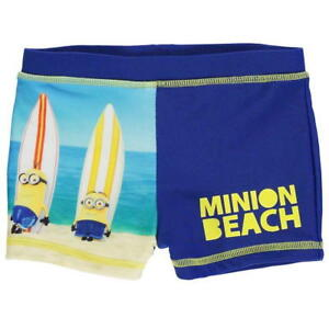5d4cc26af8359 minion trunks swimming shorts age 3 4 5 6 new beach despicable me ...