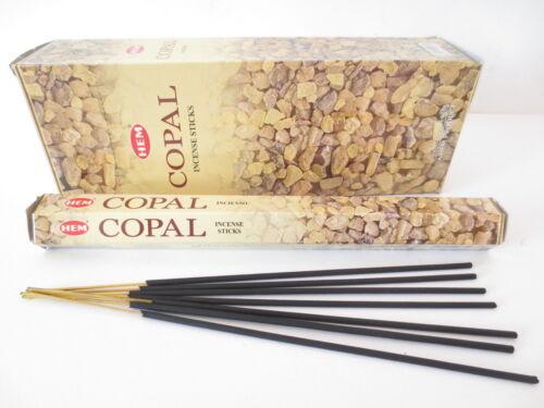 COPAL von HEM BIG PACK 6 x 20 Räucherstäbchen Original Indien Incense